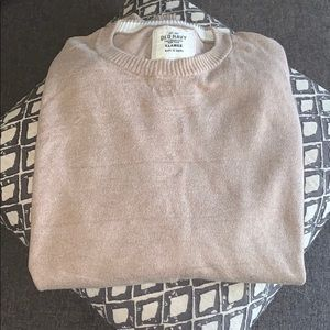 Camel colored crew neck sweater. Size XL.
